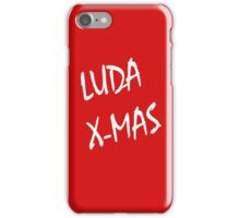 Luda X-Mas, 30 Rock. iPhone Case/Skin