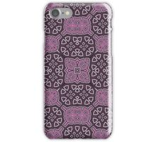 Abstract Pattern purple iPhone Case/Skin