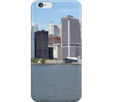 Manhattan Panorama iPhone Case/Skin