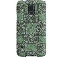 Abstract Pattern green Samsung Galaxy Case/Skin