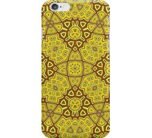 Abstract Pattern yellow iPhone Case/Skin