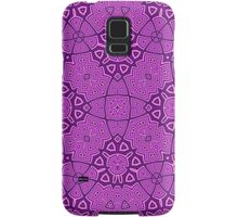 Abstract Pattern purple Samsung Galaxy Case/Skin