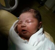OUR GRAND DAUGHTER HAS ARRIVED!!!!!!!!! by linmarie