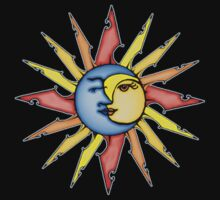 moon and sun by Amy-Elyse Neer