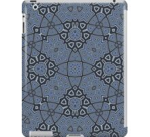 Blue Abstract Trendy Pattern iPad Case/Skin