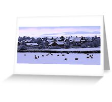 Earby in the Snow Greeting Card