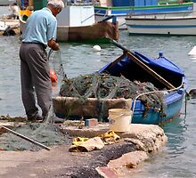 Mending the Nets by PhotoWorks