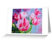 Pink Ladies #2 Greeting Card