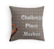 Challenge Marker Throw Pillow