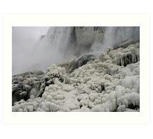 Beneath Niagara Falls Art Print