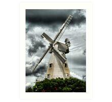 Willesborough Windmill .Ashford , Kent Art Print