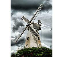 Willesborough Windmill .Ashford , Kent Photographic Print