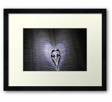 Two Hearts Out Of Darkness Framed Print