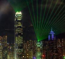 Laser Show by Paul Thompson Photography