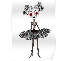 Gothic Rag Doll Poster