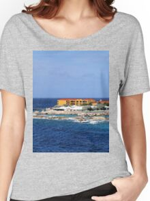 a desolate Curacao landscape Women's Relaxed Fit T-Shirt