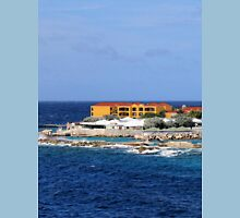 a desolate Curacao landscape T-Shirt