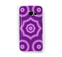 Purple circle pattern Samsung Galaxy Case/Skin