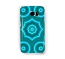 Blue abstract pattern Samsung Galaxy Case/Skin