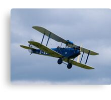 De Havilland DH60 Gipsy Moth Military Trainer Canvas Print