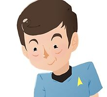 Itty Bitty Leonard McCoy by poet-tree-lines