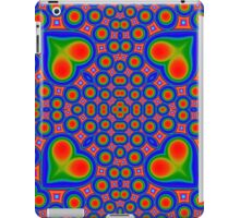 Abstract hearth and circle colorful pattern iPad Case/Skin
