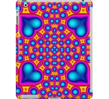 Colorful abstract hearth pattern iPad Case/Skin