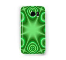Green Trendy pattern Samsung Galaxy Case/Skin