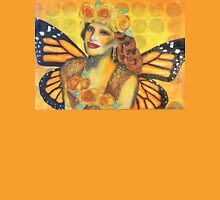 Orange Fairy Womens Fitted T-Shirt