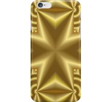 Abstract Cross yellow color iPhone Case/Skin