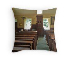 Nigg Church Interior Throw Pillow