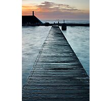Newcastle Baths Boardwalk, NSW Australia Photographic Print