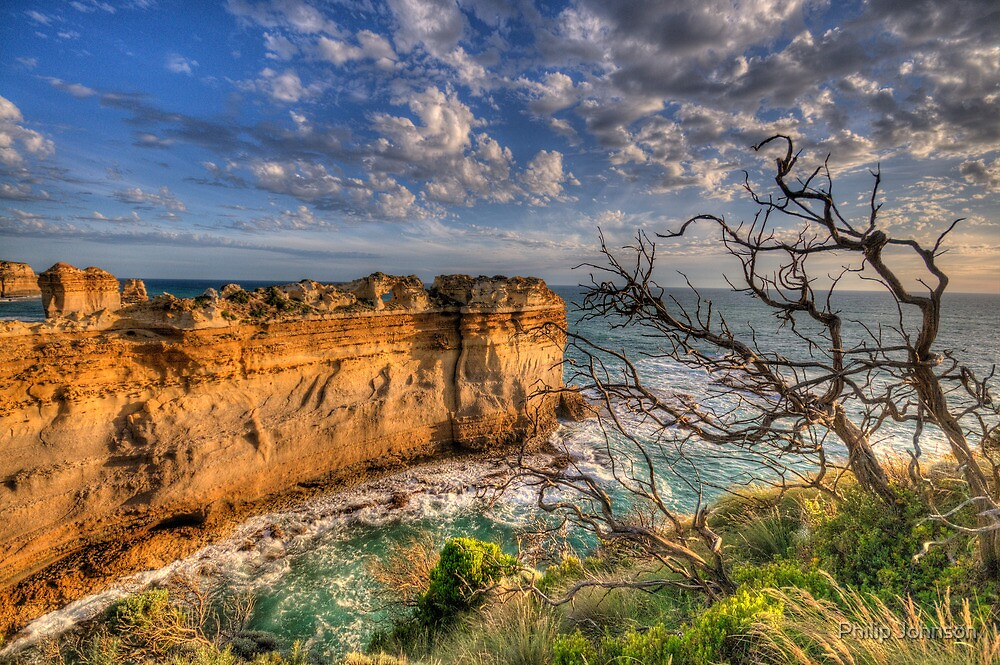 Reach For The Sky #2 - Twelve Apostles, Great Ocean Road - The HDR Experience by Philip Johnson