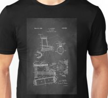 Dog Harness Patent 1945 Unisex T-Shirt