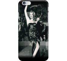 Rita Hayworth as Gilda iPhone Case/Skin