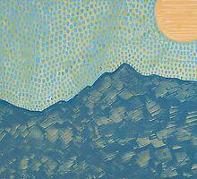 Picuris Mountains original painting by CrowRisingMedia