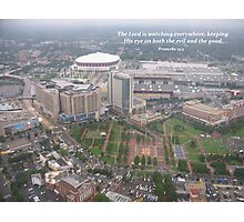 Overlooking the Olympic Park, Atlanta Photographic Print