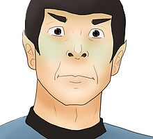 Shocked Spock by poet-tree-lines