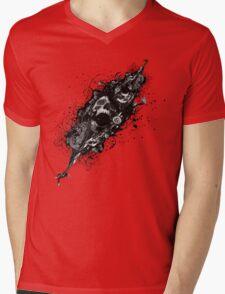 Skulls Mens V-Neck T-Shirt