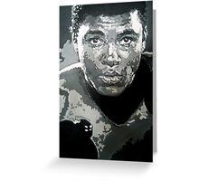 Mohammed Ali iconic pop art piece by artist Debbie Boyle - db artstudio Greeting Card