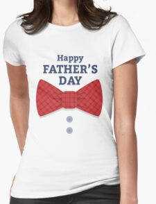 Happy Father's day Womens Fitted T-Shirt