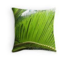 Fandango Green Throw Pillow