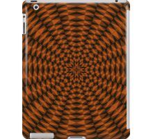 Dark colored abstract pattern iPad Case/Skin