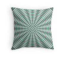 Trendy abstract decorative pattern Throw Pillow