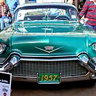1957  Cadillac Coupe DeVille by RichardKlos
