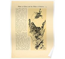The Land of Enchantment by Arthur Rackham 0025 He Jumped Down the Crevice Poster