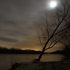 Moon over River by ZASlothower
