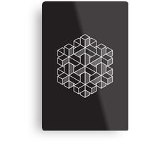 Impossible Shapes: Hexagon Metal Print