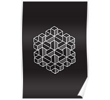 Impossible Shapes: Hexagon Poster