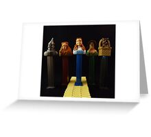Follow the Yellow Pez Road Greeting Card